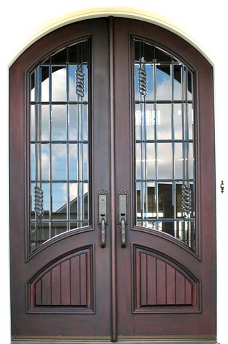 French Doors Come In Various Sizes And Gl Configurations They Can Be Purchased Without Temper Safety Laminated Tempered Bevel