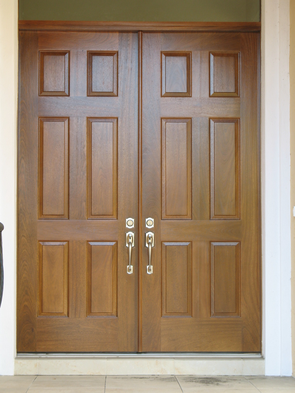 Solid wood doors for Oak french doors