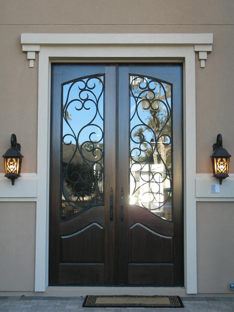 Front doors with glass and iron - Front Doors With Glass And Iron 21